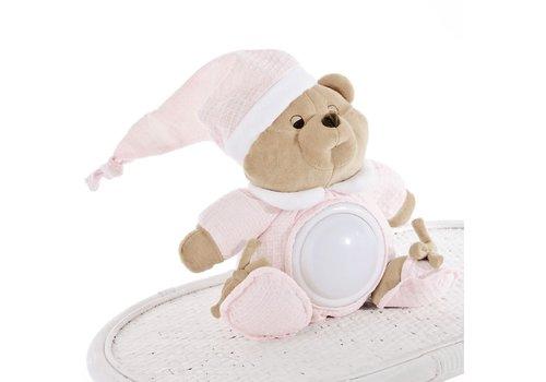 Nachtlampje Puccio (roze)  - Nanan