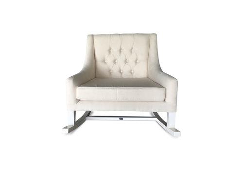 Schommelstoel/rocking chair (creme) - BACH Furniture