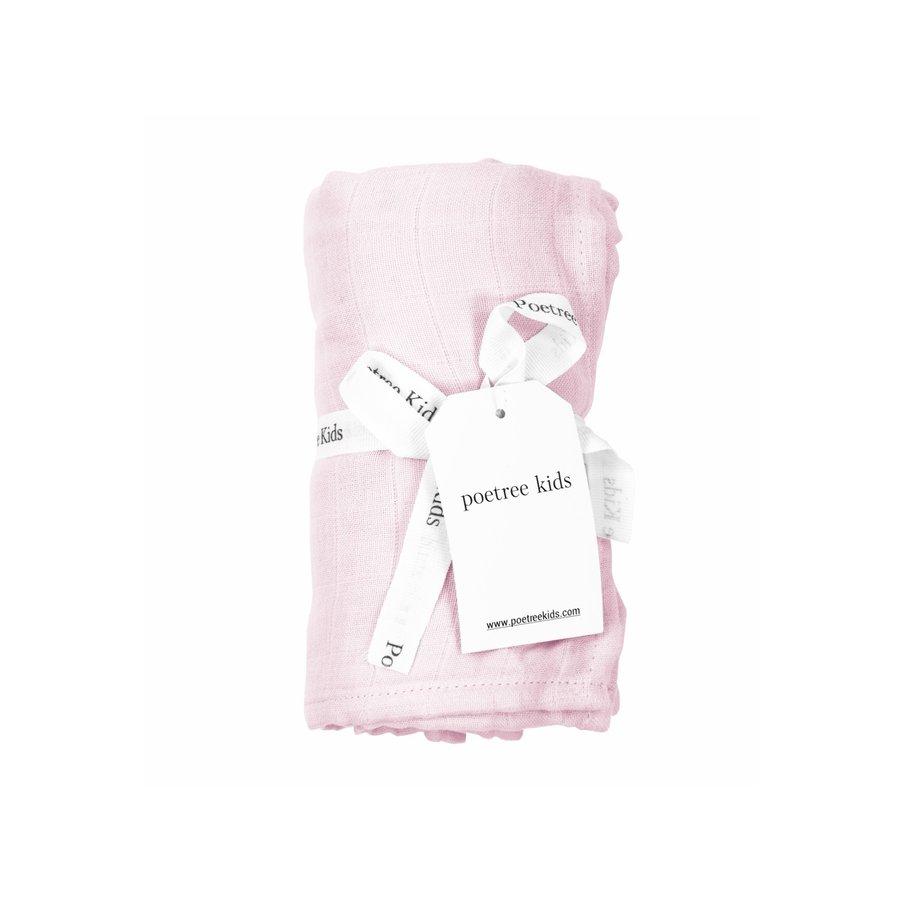 Swaddle doek (Light Pink) - Poetree Kids