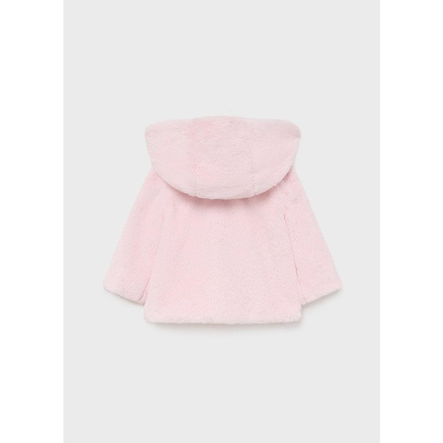 Zachte jas met capuchon (roze) - Mayoral