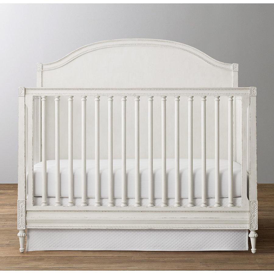 Ledikant met ronde achterkant (off white) - BACH Furniture