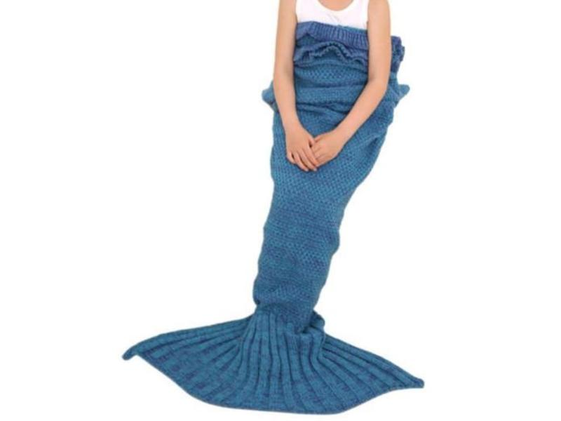 Mermaid Blanket Family Set