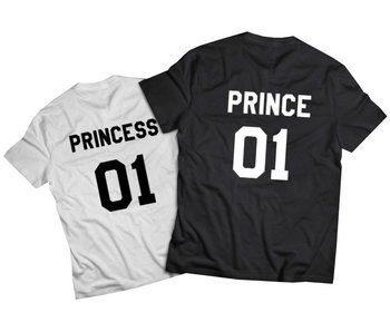 T-shirt Prince/Princess (Baby Sizes)