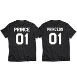 T-shirt Set Prince + Princess (Baby Sizes)