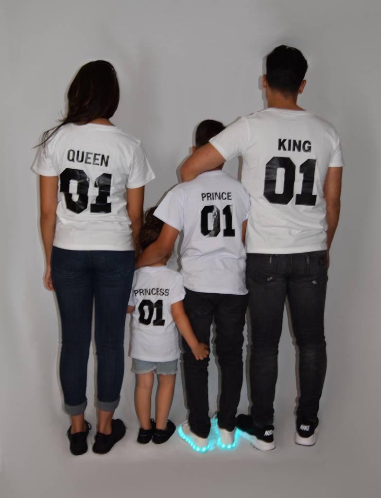 870eed1d20a92 T-shirt Set Prince + King + Queen (Baby Sizes) - Hipp Kiddo