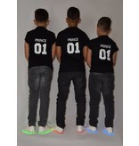 T-shirt Set Princess + King + Queen (Baby Sizes)