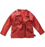 Biker Jacket Red