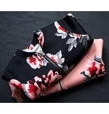 Jacket Floral (Black)