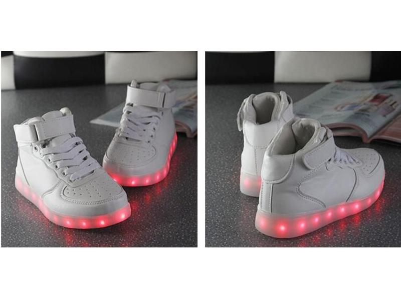 Sneakers Led Light Hoog