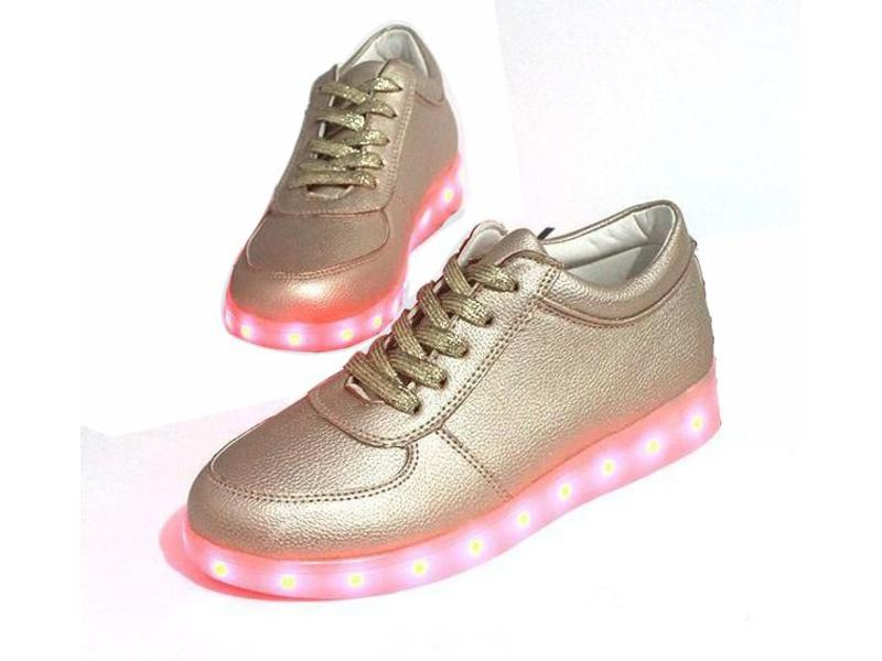 Sneakers Led Light (Gold)