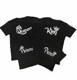 T-shirt Set Crown Princess + King + Queen