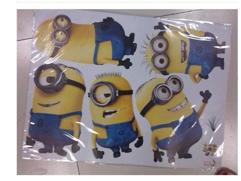 Muur Sticker Minions I