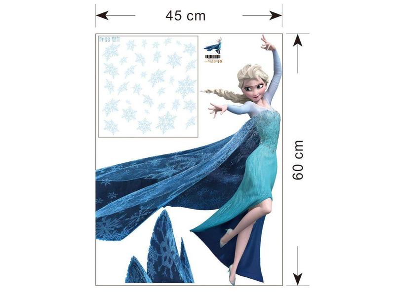 Muur Sticker Elsa