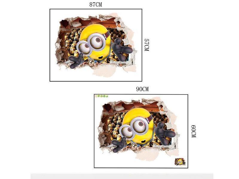 Muur Sticker Minions II