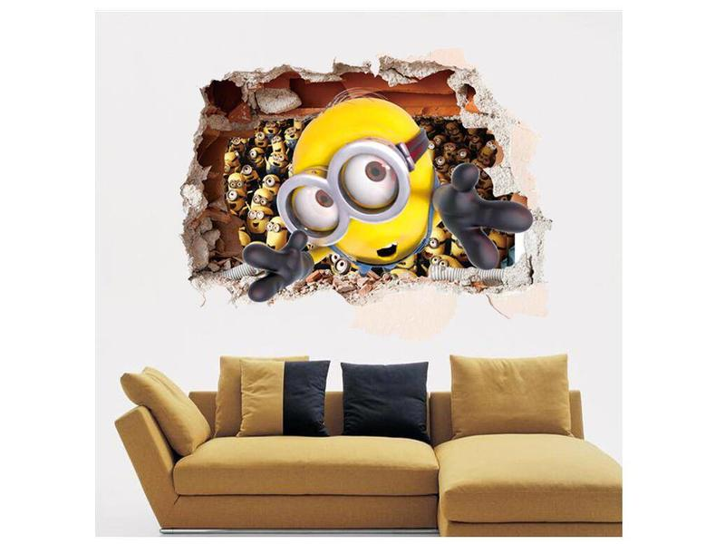 Wall Sticker Minions II