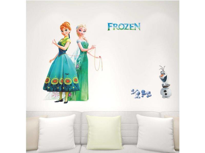 Wall Sticker Elsa & Anna