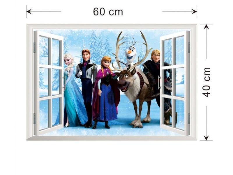Muur Sticker Frozen II