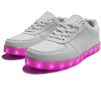 Sneakers Led Light Wit (Volwassen)