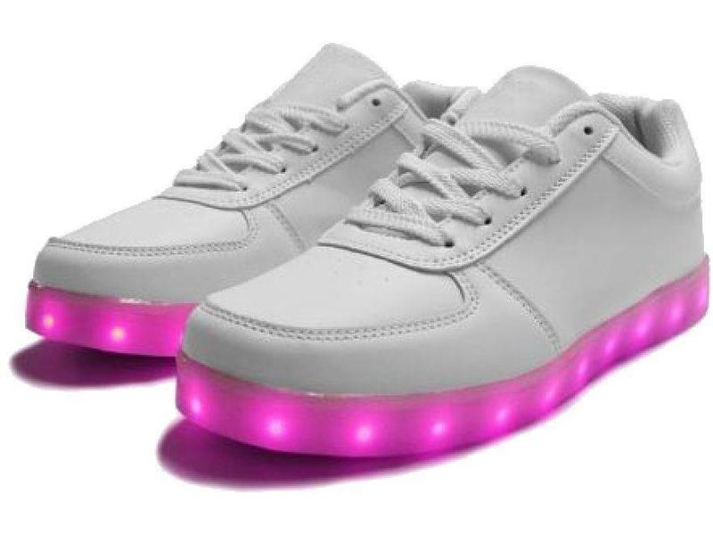 Sneakers Led Light Wit (Volwassen)