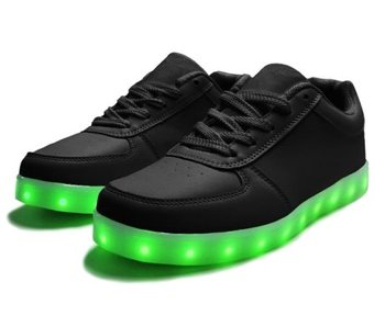 Sneakers Led Light Zwart (Volwassen)