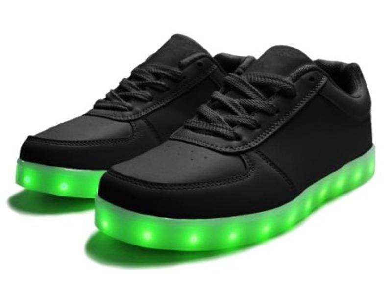 Sneakers Led Light Black (Adult)