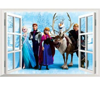 Muur Sticker Frozen II