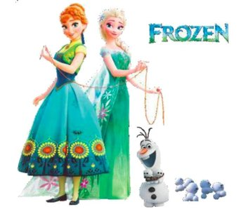 Wall Sticker Elsa & Anna
