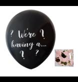 Gender Reveal Confetti Ballon We're having a…