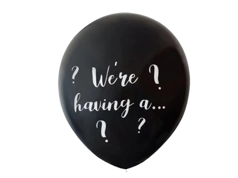 Gender Reveal Confetti Balloon We're having a…