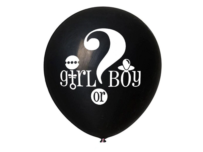 Gender Reveal Confetti Ballon Girl or Boy?