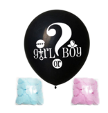 Gender Reveal Confetti Ballon Meisje of Jongen?