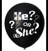 Gender Reveal Confetti Ballon He or She?