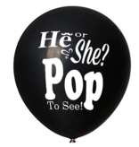 Gender Reveal Confetti Ballon He or She? Pop To See!