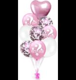 Pink Girl or Boy Balloon 9x