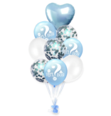 Blue Girl or Boy Balloons 18x
