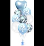 Blauwe Girl or Boy Ballon 18x