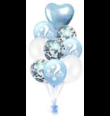 Blauwe Girl or Boy Ballonnen 9x