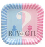 Gender Reveal  Bord 7 inch 8x