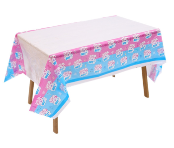 Gender Reveal  Tablecloth 1x