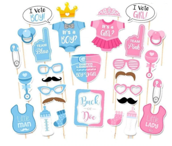 Gender Reveal Photo Props 30x