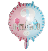 Girl or Boy Balloon 18inch