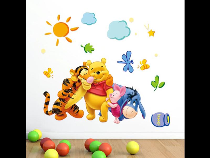Muur Sticker Winnie The Pooh I