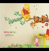 Muur Sticker Winnie The Pooh II
