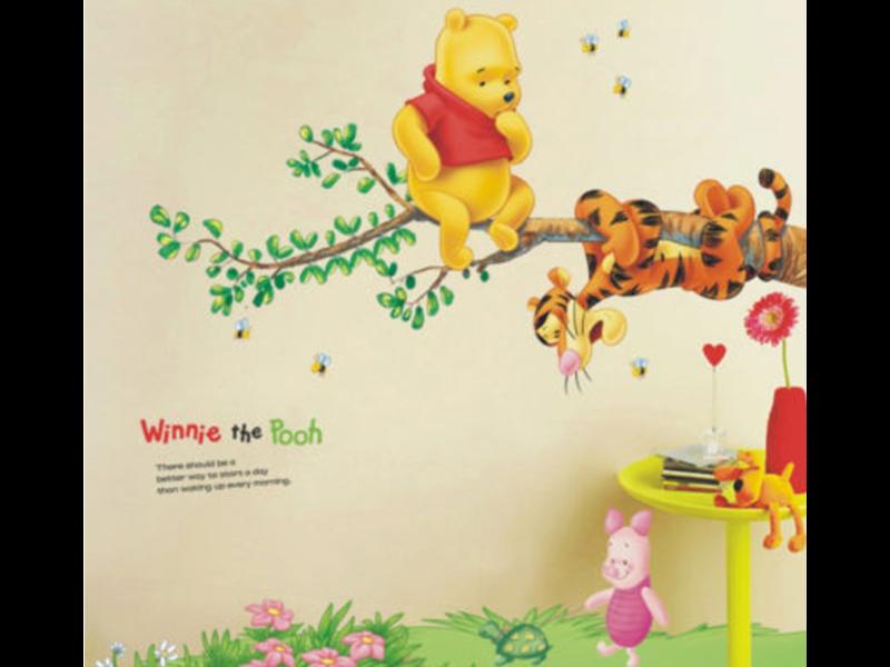 Muur Sticker Winnie de Poeh II