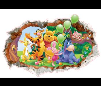Wall Sticker Winnie The Pooh III