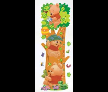 Wall Sticker Winnie The Pooh Growth Chart