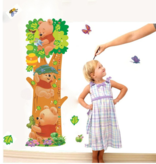 Muur Sticker Winnie The Pooh Groei Meter