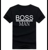 T-shirt Boss Man/Boss Lady