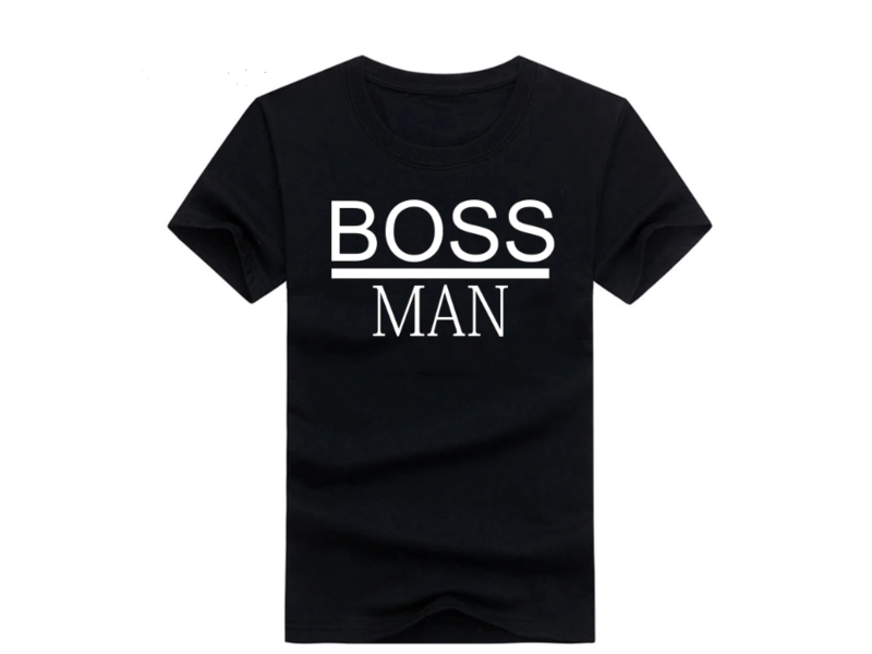 T-shirt Boss Man + Boss Lady