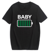 T-shirt Battery Baby